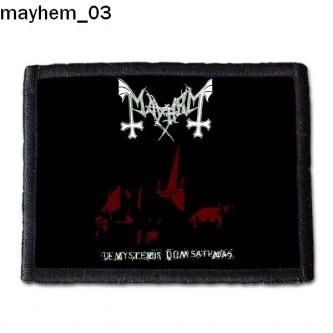 Naszywka Mayhem 03