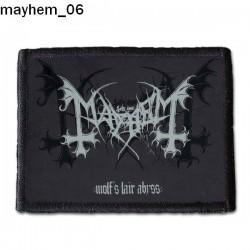 Naszywka Mayhem 06