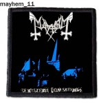 Naszywka Mayhem 11
