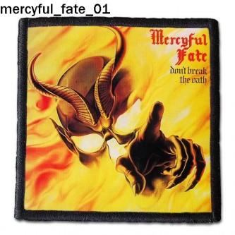 Naszywka Mercyful Fate 01