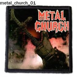 Naszywka Metal Church 01