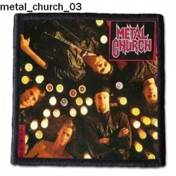 Naszywka Metal Church 03