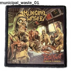 Naszywka Municipal Waste 01