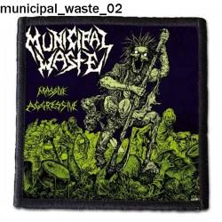 Naszywka Municipal Waste 02