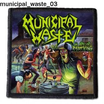 Naszywka Municipal Waste 03