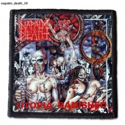 Naszywka Napalm Death 10