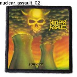 Naszywka Nuclear Assault 02