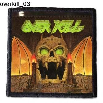 Naszywka Overkill 03