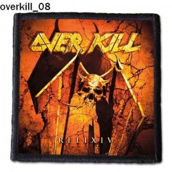 Naszywka Overkill 08