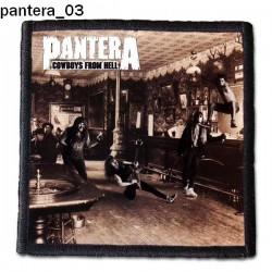 Naszywka Pantera 03