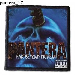 Naszywka Pantera 17