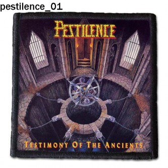 Naszywka Pestilence 01