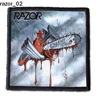 Naszywka Razor 02