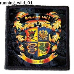 Naszywka Running Wild 01