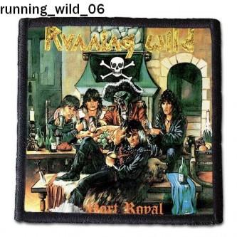 Naszywka Running Wild 06