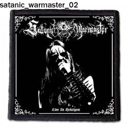 Naszywka Satanic Warmaster 02