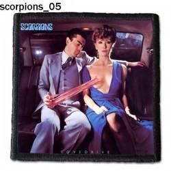 Naszywka Scorpions 05