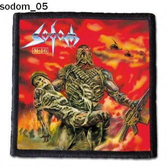 Naszywka Sodom 05