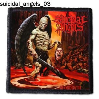 Naszywka Suicidal Angels 03