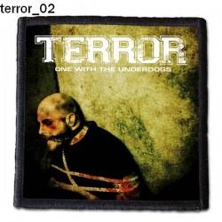Naszywka Terror 02