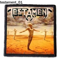 Naszywka Testament 01