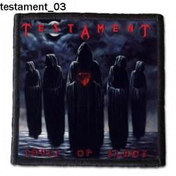 Naszywka Testament 03