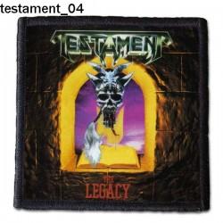 Naszywka Testament 04