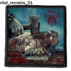 Naszywka Vital Remains 01