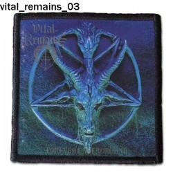 Naszywka Vital Remains 03