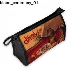 Kosmetyczka, piórnik Blood Ceremony 01