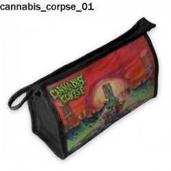 Kosmetyczka, piórnik Cannabis Corpse 01