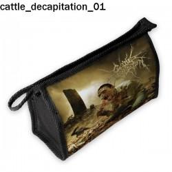 Kosmetyczka, piórnik Cattle Decapitation 01