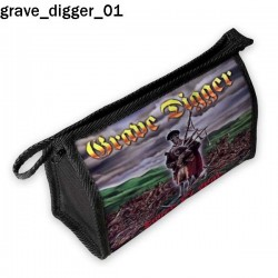 Kosmetyczka, piórnik Grave Digger 01