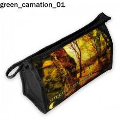 Kosmetyczka, piórnik Green Carnation 01