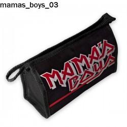 Kosmetyczka, piórnik Mamas Boys 03