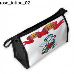 Kosmetyczka, piórnik Rose Tattoo 02
