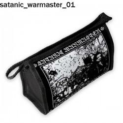 Kosmetyczka, piórnik Satanic Warmaster 01