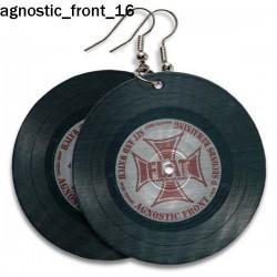 Kolczyki Agnostic Front 16
