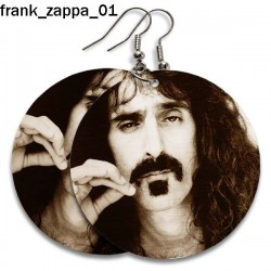 Kolczyki Frank Zappa 01