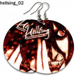 Kolczyki Hellsing 02