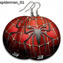 Kolczyki Spiderman 01