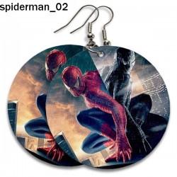 Kolczyki Spiderman 02