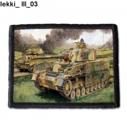 Naszywka Lekki III 03