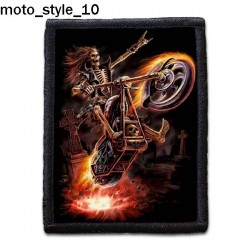 Naszywka Moto Style 10