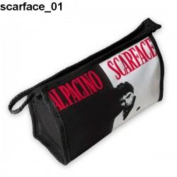 Kosmetyczka, piórnik Scarface 01