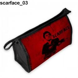 Kosmetyczka, piórnik Scarface 03