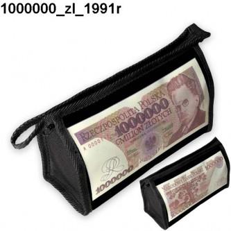 Kosmetyczka, piórnik 1000000 Zl 1991r