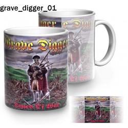 Kubek Grave Digger 01