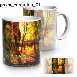 Kubek Green Carnation 01