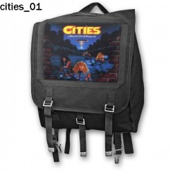 Plecak kostka Cities 01